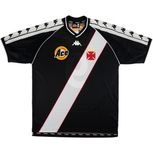 1999-00 Vasco da Gama Away Shirt #9 (Ramon) (Excellent) L