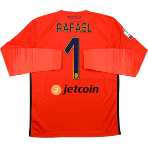 2015-16 Hellas Verona Match Issue GK Third Shirt Rafael #1 *As New* L