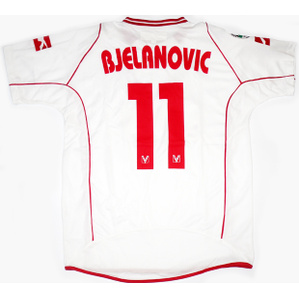 2009-10 Vicenza Player Issue Away Shirt Bjelanovic #11 *As New* L
