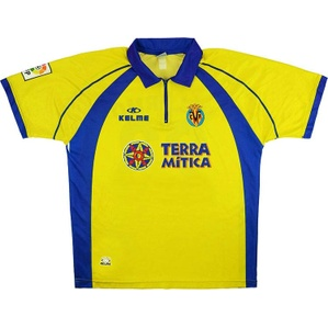 2000-01 Villarreal Home Shirt (Good) M