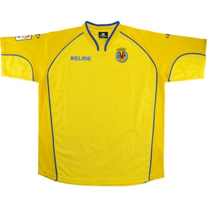 2004-05 Villarreal Home Shirt (Good) S
