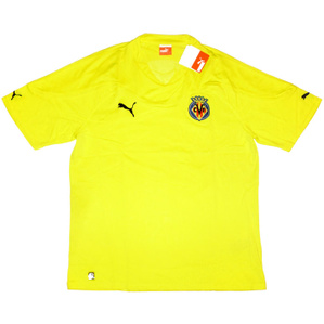 2010-11 Villarreal Home Shirt *BNIB* XS