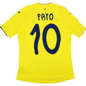 2016-17 Villarreal Home Shirt Pato #10 *w/Tags*