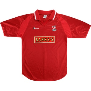 2001-02 Walsall Home Shirt (Very Good) M