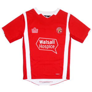 2009-10 Walsall Home Shirt M