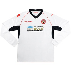 2012-13 Walsall Away L/S Shirt (Very Good) L