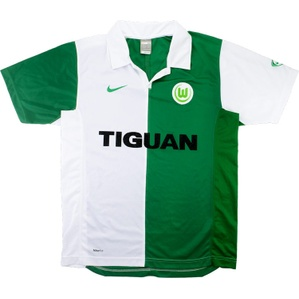 2007-08 Wolfsburg Home Shirt (Excellent) M