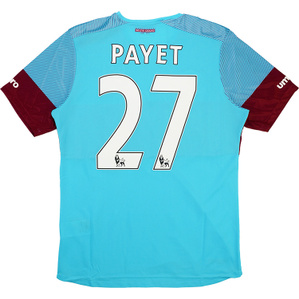2015-16 West Ham 'Boleyn' Away Shirt Payet #27 *w/Tags*