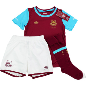 2015-16 West Ham 'Boleyn' Home Full Kit *BNIB* BOYS
