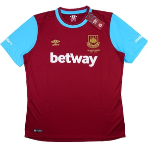 2015-16 West Ham 'Boleyn' Home Shirt *BNIB*
