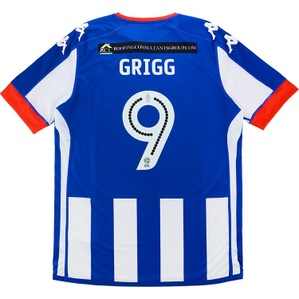 2016-17 Wigan Home Shirt Grigg #9 *w/Tags* XXL