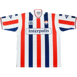 2000-01 Willem II Match Issue Home Shirt #15