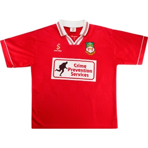 1998-99 Wrexham Match Issue Reserves Home Shirt #4