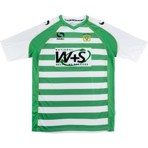 2013-14 Yeovil Home Shirt (Excellent) XL