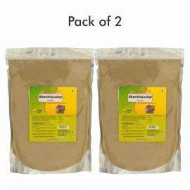 Herbal Hills Shankhpushpi 1 kg powder - Pack of 2 Shankhpushpi brain tonic herbal powder