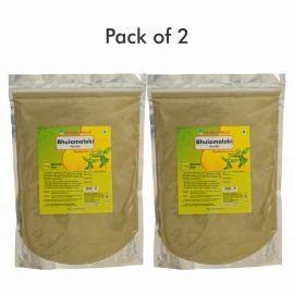 Herbal Hills Bhuiamlaki Powder - 1 kg powder - Pack of 2 Natural herbal powder for liver in bulk pack