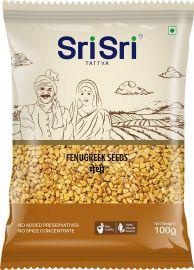 Sri Sri Tattva Fenugreek Seeds(Methi) - 100g