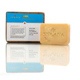 Snaana Toddler GOAT MILK – OLIVE Soap With Sweet Orange Essential Oil