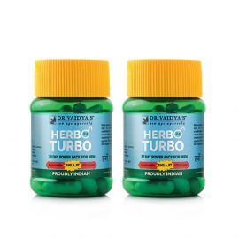 Dr. Vaidya's Herbo24Turbo - Pack of 2- Male Sexual Wellness
