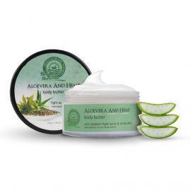 Health Horizons Aloe Vera and Hemp Body Butter Cream