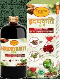 Ayukriti Herbals Hridaykriti Ayurvedic Ras - 500ml