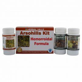 Herbal Hills Arsohills Kit Natural Piles treatment programme