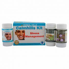 Herbal Hills Calmhills Kit (Calmhills, Ashwagandhahills, Shankhpushpihills) Natural stress management programme