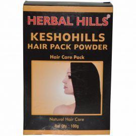 Herbal Hills Keshohills Hair Pack Powder 100g (Pack of 2) Herbal formulation for Hair Care