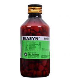J And J Dechane Diasyn Anti-Diarrhoeal Tablets
