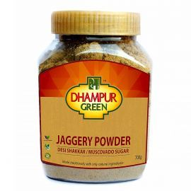 Dhampur Green Jaggery Powder (Desi Shakkar)