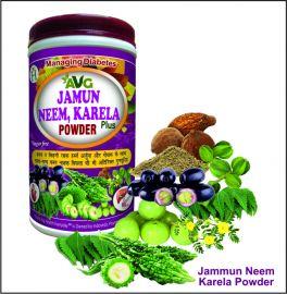 AVG Jamun, Neem, Karela Plus Powder for Diabetes
