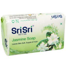 Sri Sri Tattva Jasmine Soap 75 g - Pack of 4