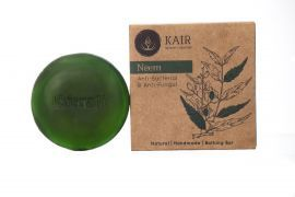 Kairali Neem Soap - Natural Antiseptic Extract of Neem for Skin Protection (100 grams)