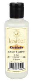 Khadi Leafveda Almond Saffron Moisturisng Lotion Cream 210ml