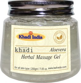 Khadi Leafveda Aloe Vera Herbal Gel For Skincare 200gm