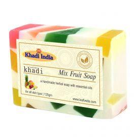 Khadi Leafveda Mix Fruit Soap Pack of 3 For Bath Essentials 375gm
