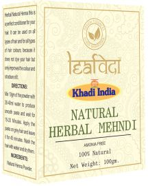 Khadi Leafveda Natural Mehndi Amonia Free For Hair Care 100gm