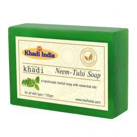 Khadi Leafveda Neem-Tulsi Soap Pack of 3 For Bath Essentials 375gm