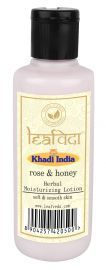 Khadi Leafveda Rose Honey Moisturising Lotion Cream 210ml