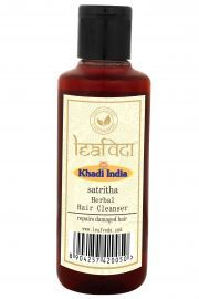 Khadi Leafveda Satritha Herbal Hair Cleanser For Hair Care 210ml