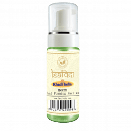 Khadi Leafveda Neem Foaming Face Wash For Face Care 150ml