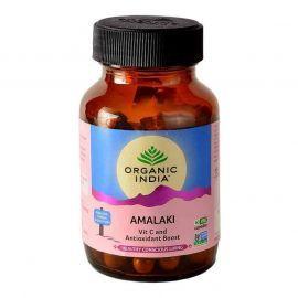 Organic India Amalaki 60 Capsules Bottle for Health Care