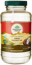 Organic India Coconut Oil Virgin 500 Ml for Health Care