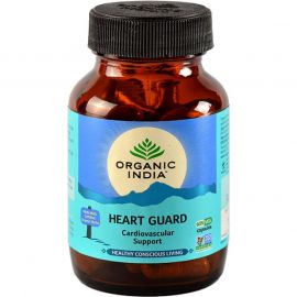 Organic India Heart Guard 60 Capsules Bottle for Health Care