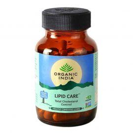 Organic India Lipid Care 60 Capsules Bottle for Health Care