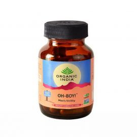 Organic India OH-Boy 30 Capsules Bottle for Health Care