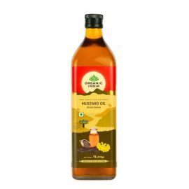 Organic India Organic Mustard oil 1 Litre for Health Care