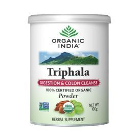 Organic India Triphala Powder 100 Gm for Health Care