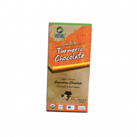 Organic Wellness Zeal Turmeric Chocolate