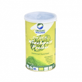 Organic Wellness Zeal Wheatgrass Powder (100gm Can)